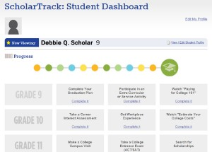 ScholarTrack Dashboard