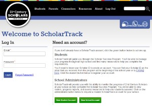 ScholarTrack Log In
